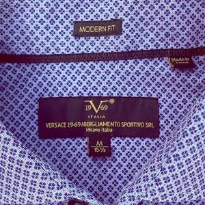 Versace 19V69 Italia long sleeve shirt